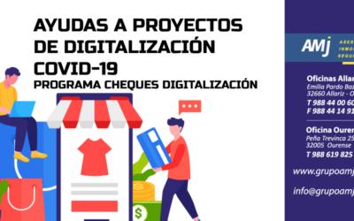 Ayudas Proyectos Digitalización – COVID19