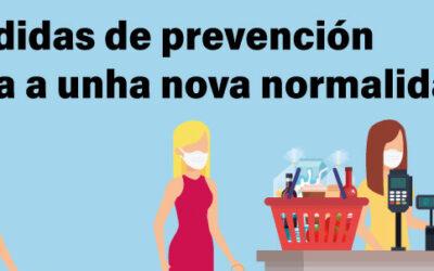 Medidas de prevención sanitarias de cara a la Nueva Normalidad