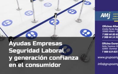 Ayudas  a proyectos de empresas para garantizar la seguridad laboral y generar confianza en el consumidor